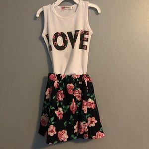 Other - 2T tank top and skirt set